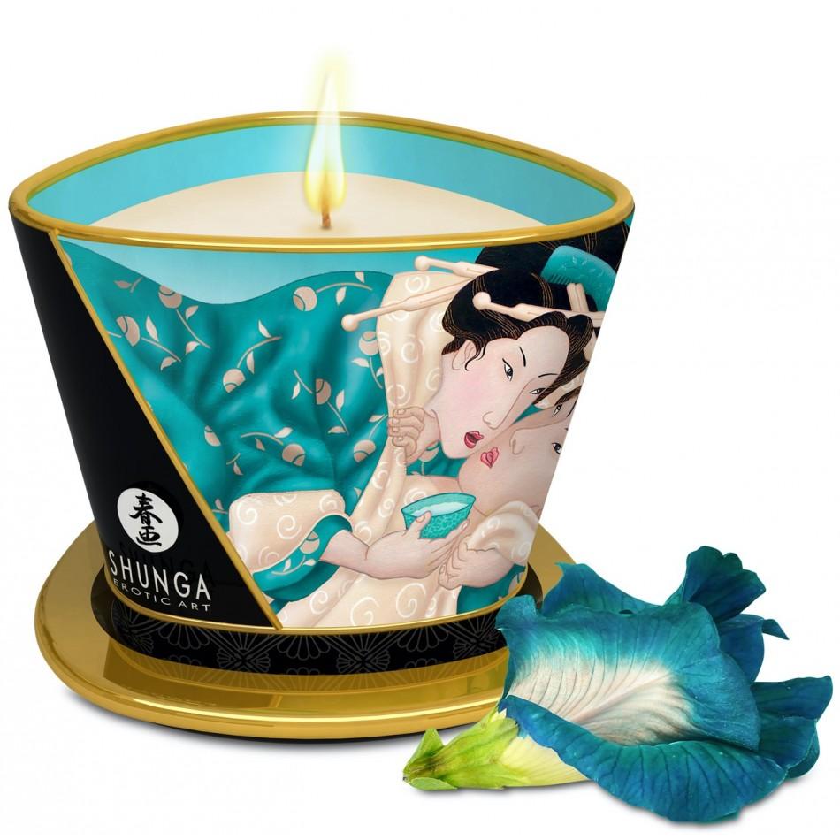 Bougie de massage Lueur et Caresse Fleurs des Iles - 170 ml
