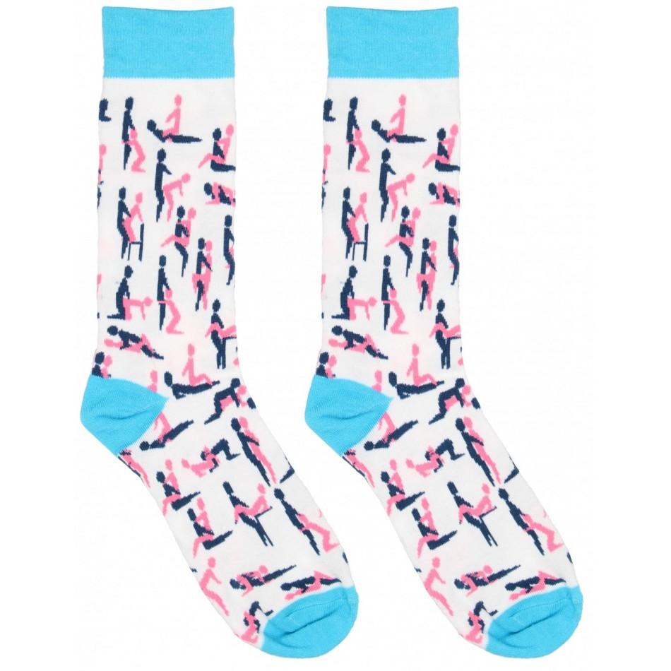 Chaussettes Sexy Socks Motifs Kama-Sutra - T 36-41
