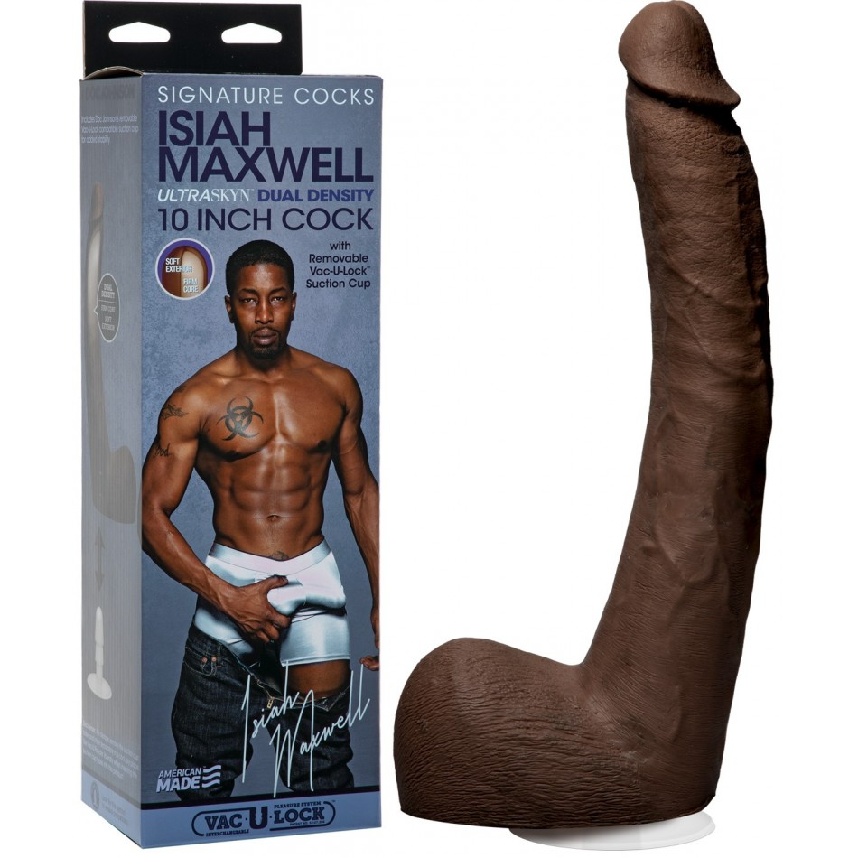 Gode Réaliste Ultraskyn Vac U Lock Isiah Maxwell