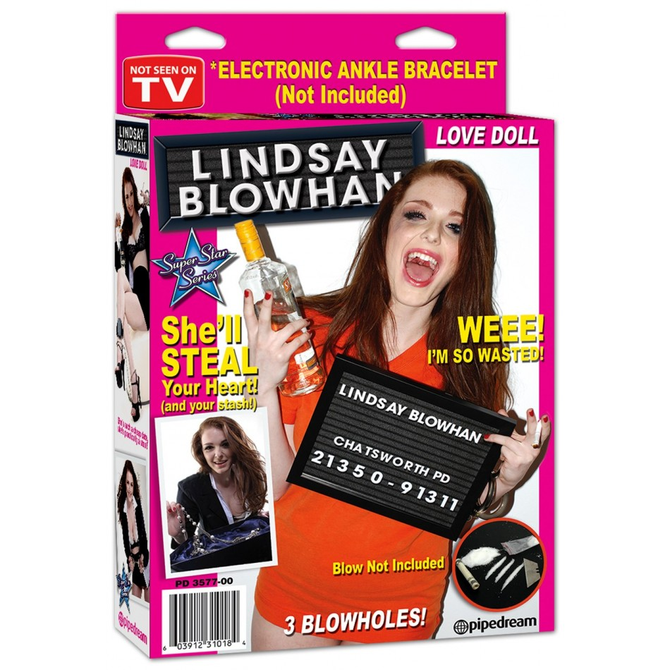 Poupée gonflable Lindsay Blowhan