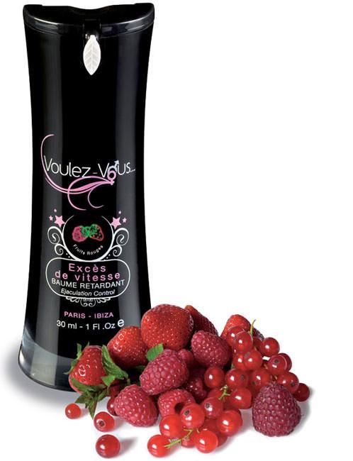 Baume retardant Exces de vitesse Fruits Rouges 30 ml