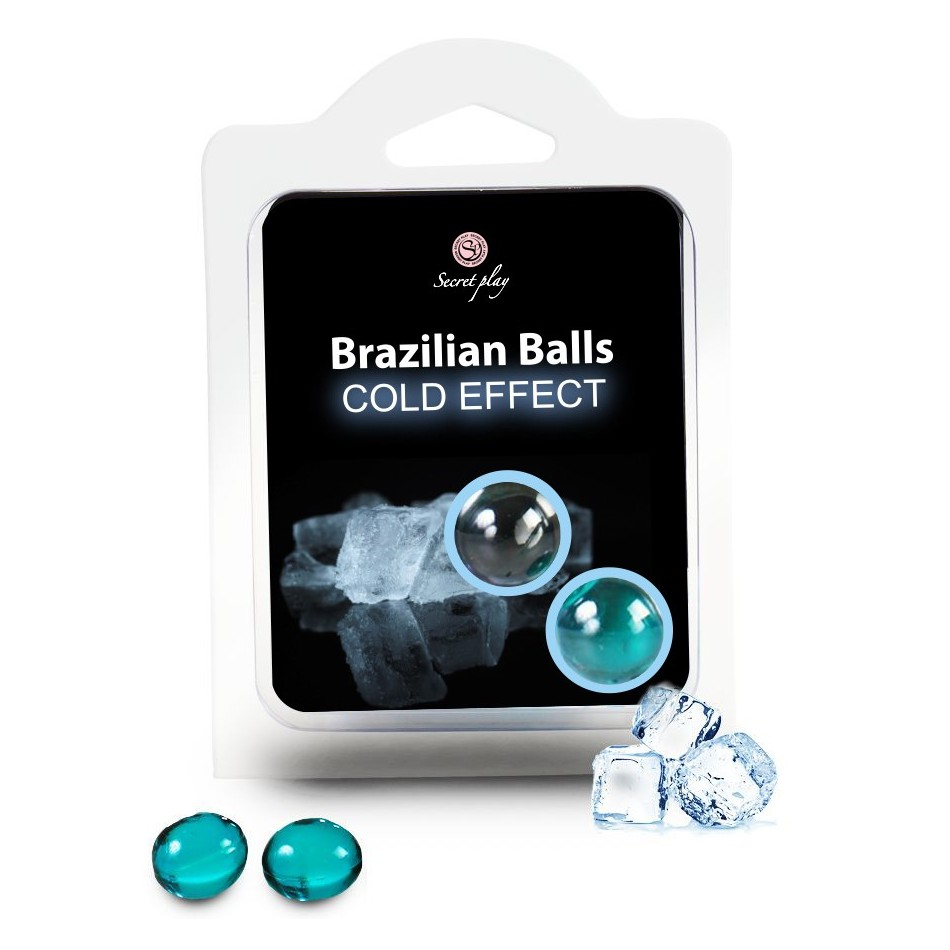 Boules Brésiliennes Effet Glacé par 2