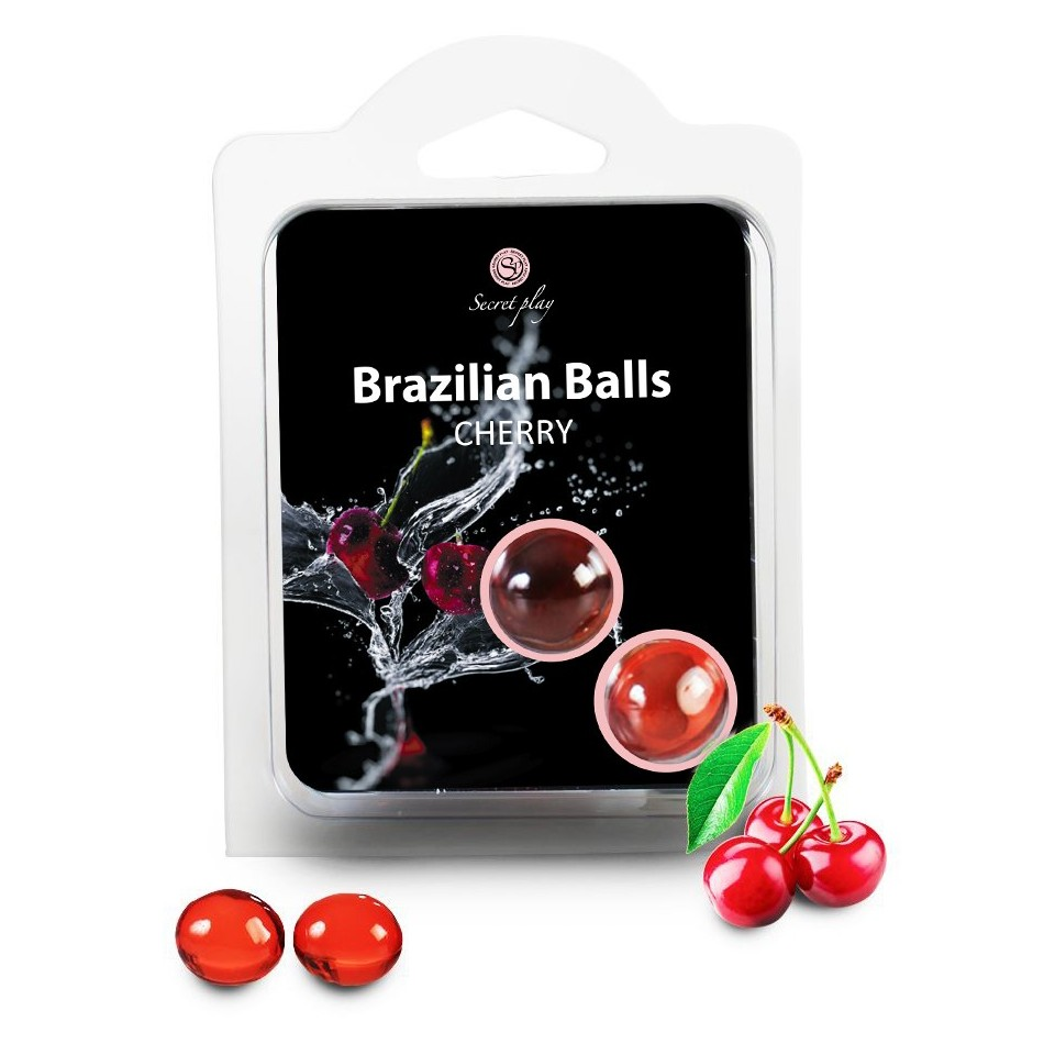 Boules Brésiliennes aromatisées Cerise par 2