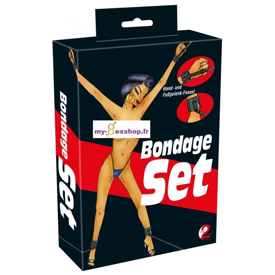 Kit bondage 4 attaches