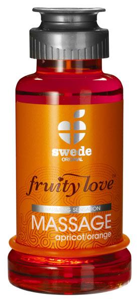 Huile de massage Fruity Love Abricot Orange 100 ml