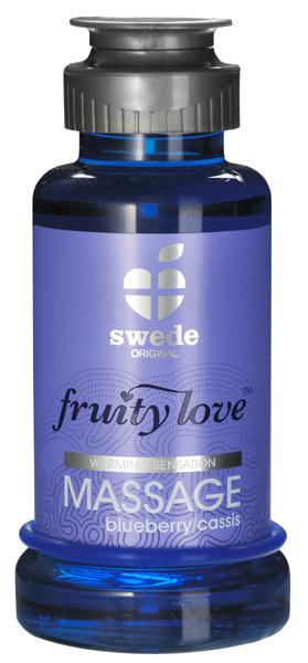 Huile de massage Fruity Love Blueberry Cassis 100 ml