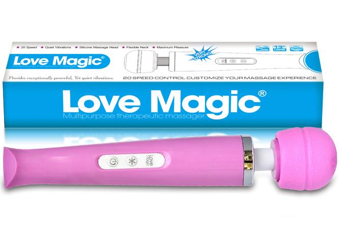 Vibromasseur Love Magic rose 18 vitesses