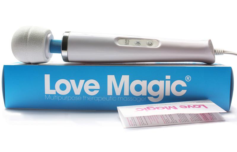 Vibromasseur Love Magic blanc 18 vitesses