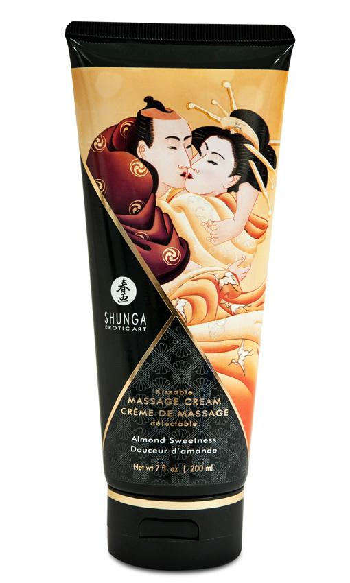 Crème de massage douceur d\'amande 200 ml