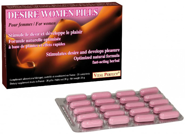 Desire women pills 20 comprimés