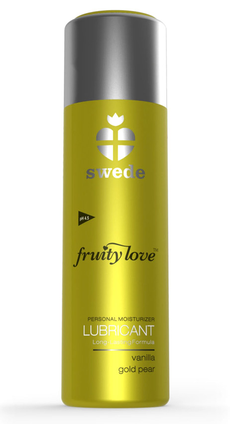 Lubrifiant Fruity Love Poire vanille 100 ml