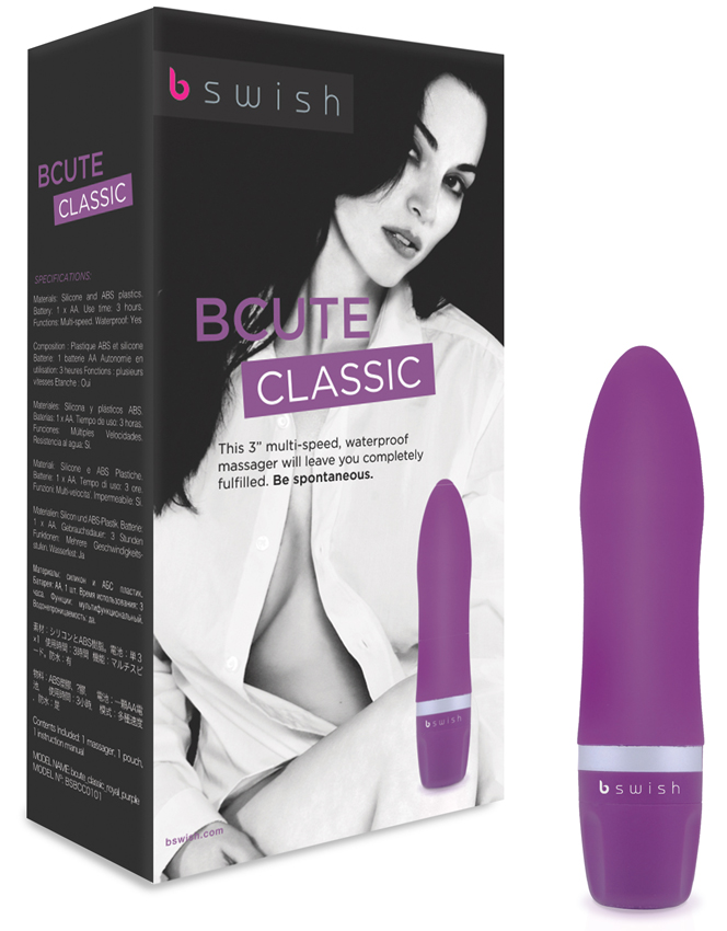 Vibromasseur Bcute Classic Royal Purple