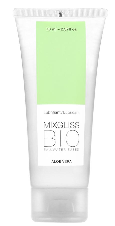 Lubrifiant Mixgliss Bio Aloe Vera 70 ml