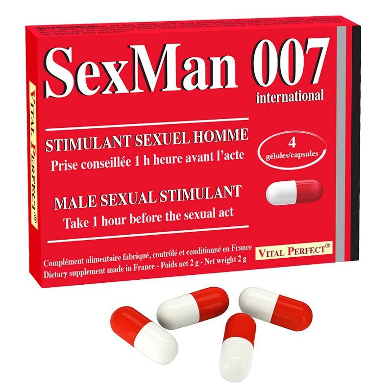 Sexman - 4 gélules