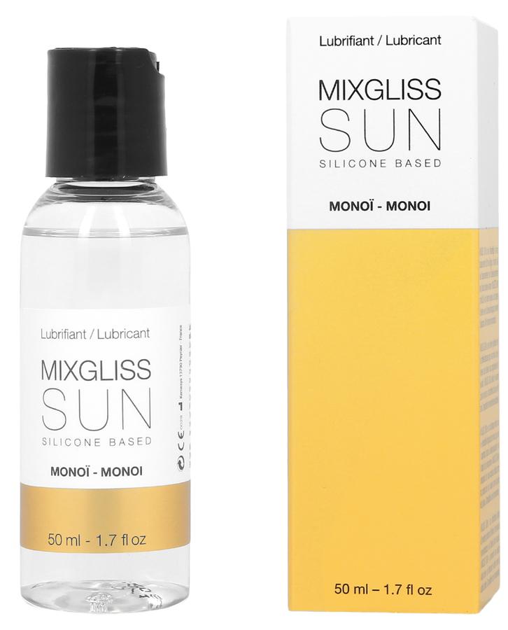 Lubrifiant Mixgliss Fluid Silicone Sun Monoi 50 ml