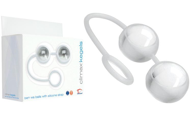Boules de Geisha Climax Kegels en verre et silicone
