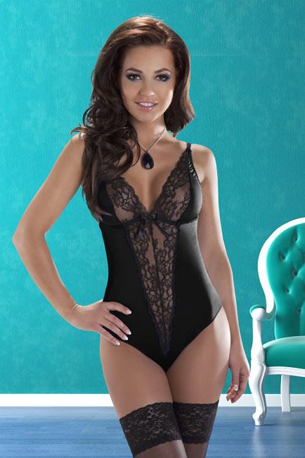 Body noir Camelia XXL-XXXL