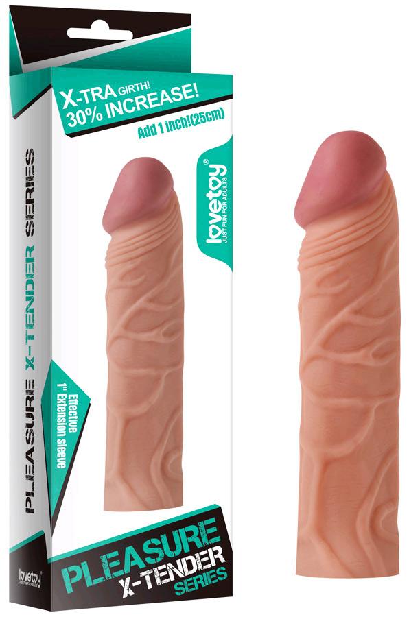 Gaine Pleasure X-Tender 16 cm
