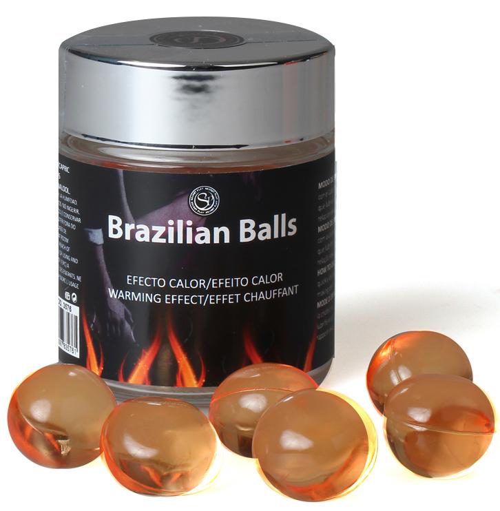 Boules Brésiliennes Effet Chaud par 6