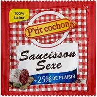 1 X préservatif Saucisson Sexe