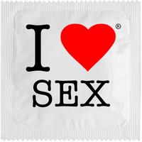 1 X préservatif I Love Sex