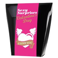 Coffret Sexy surprises Saint Valentin
