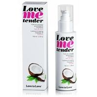 Huile de massage Love Me tender saveur Noix de Coco 100 ml