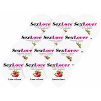 Préservatifs Sex Lover saveur Fraise 12 pcs