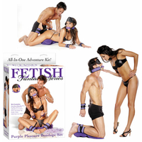Coffret Fetish Purple Pleasure Bondage