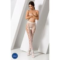 Collant Blanc Sexy S008 - TU