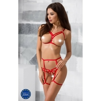 Ensemble Magali Set Rouge Devil