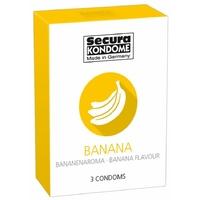 3 Préservatifs Saveur Banane