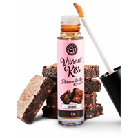 Gloss vibrant Kiss Saveur Brownie - 6 gr
