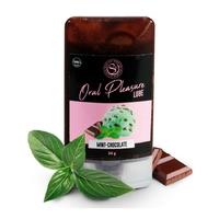Lubrifiant Comestible Oral Pleasure Saveur Menthe Chocolat - 34 gr