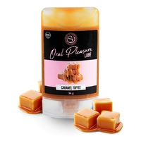 Lubrifiant Comestible Oral Pleasure Saveur Caramel - 34 gr