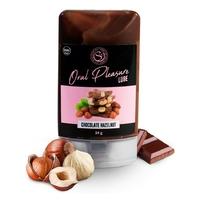 Lubrifiant Comestible Oral Pleasure Saveur Chocolat Noisette - 34 gr