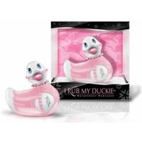 Mini Duckie Fashionista Rose et Blanc