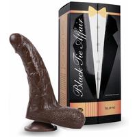 Gode ventouse Black Tie Affair Filippo - 18 cm