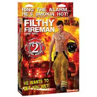 Poupée gonflable pompier Filthy Fireman