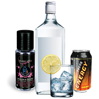 Huile de la Tentation Vodka Energy Drink - 30 ml