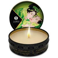 Bougie de massage Lueur et Carresse Thé Vert Exotique - 30 ml