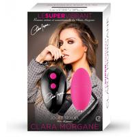 Oeuf Le Super Vibrant Rose Clara Morgane