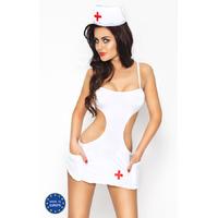 Tenue d'Infirmière Akkie Set - XXL-XXXL