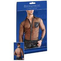 Chemise transparente à Pressions - XL
