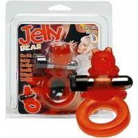Bague pénis vibrante Jelly Bear
