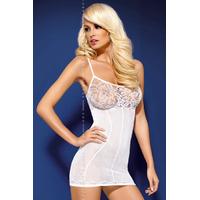 Robe blanche D204 XL-XXL