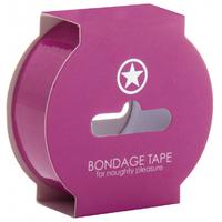 Bondage Tape Rose 17 Mètres