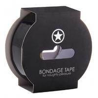 Bondage Tape Noir 17 Mètres