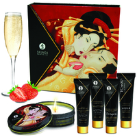 Kit Secret de Geisha Vin Pétillant Fraise