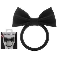 Anneau noir The Gentleman Ring